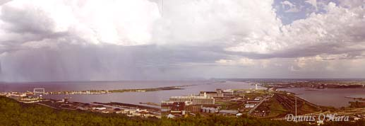 View of Duluth from Enger Tower